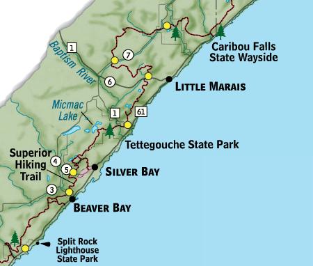 Superior Hiking Trail Superior Hiking Trail Section